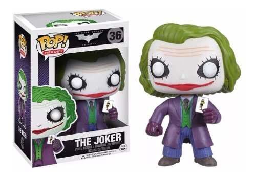 Funko Pop Dc Batman Dark Knight Guason Joker 36 Original