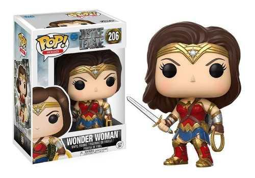 Funko Pop Dc Justice League Mujer Maravilla Wonder Woman 206