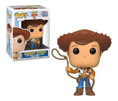 Funko Pop Disney Toy Story 4 Sheriff Woody 522 Original