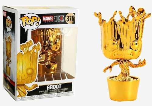 Funko Pop Groot #378 Gold Marvel Studios Oferta