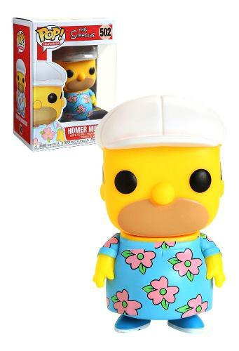 Funko Pop Homer Muumuu 502 Los Simpsons Hot Topic