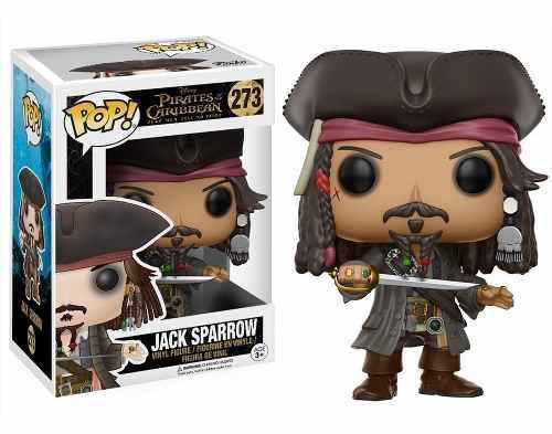 Funko Pop Jack Sparrow Piratas Del Caribe 273
