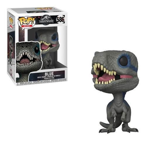 Funko Pop Jurassic World Figura De Blue Velociraptor Nuevo