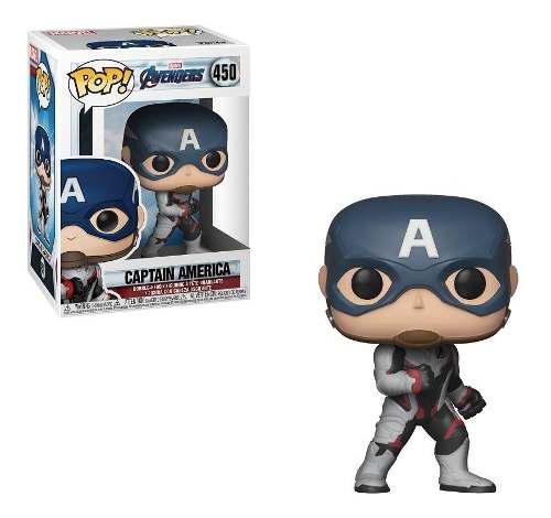 Funko Pop Marvel Avengers Endgame Vengad Capitan America 450