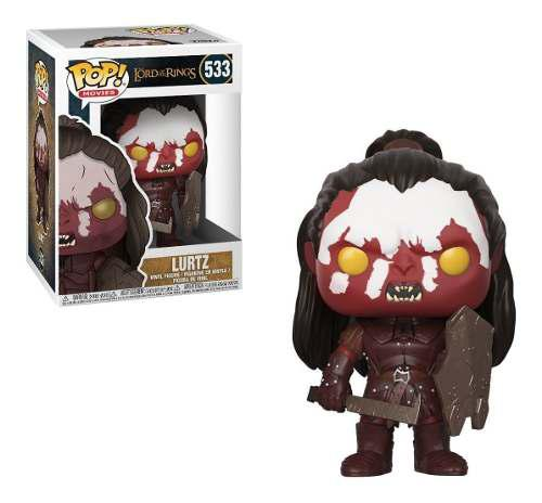 Funko Pop Movie Lord Of The Rings Lurtz Señor De Los