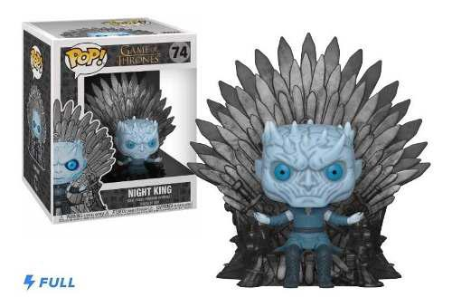 Funko Pop Night King #74 Trono De Hierro Game Of Thrones