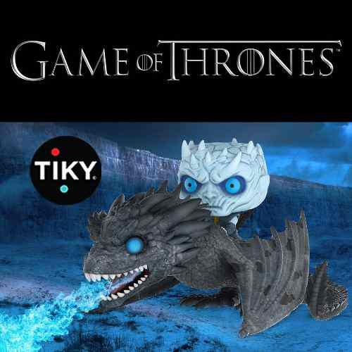 Funko Pop Night King With Icy Viserion Game Of Thrones Nuevo