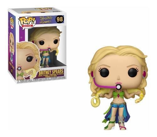 Funko Pop Rocks Music Britney Spears 98 Original