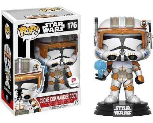 Funko Pop Star Wars Clone Commander Cody #176 Exclusivo