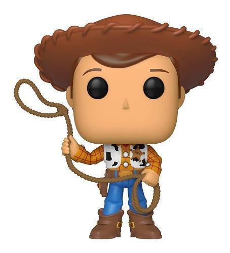 Funko Pop! Toy Story 4 522 Woody Lazo Original Nuevo