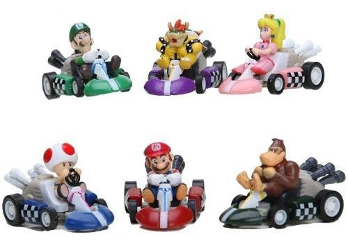 Geniales Karts Carritos De Friccion Super Mario Bros