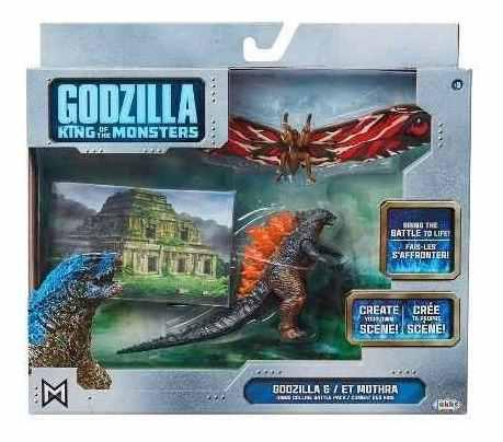Godzila King Of The Monsters (godzila Y Et Mothra)