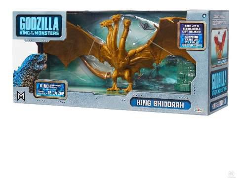 Godzilla King Of Monster King Ghidorah Articulada Ryyeeyf