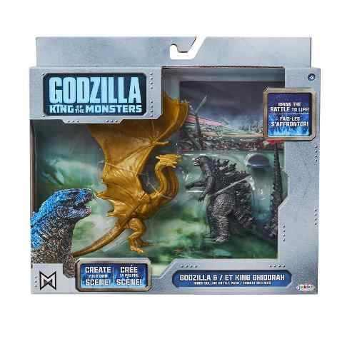 Godzilla King Of Monsters (godzilla Vs Et King Ghidorah)