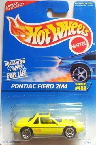 Hotwheels Pontiac Fiero 2m4 #463 1996