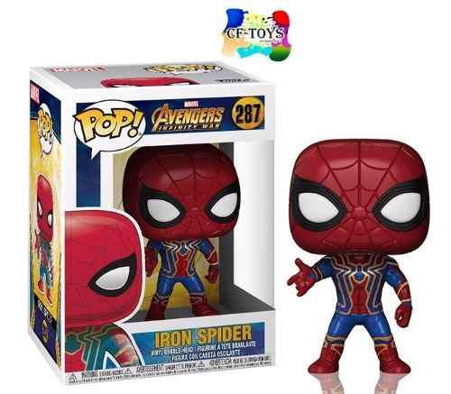 Infinity War Spider Man Funko Pop Marvel Iron Spider Cf