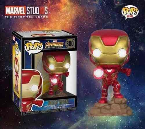 Iron Man Avengers Infinity War Light Up Funko Pop En Stock