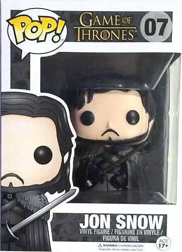 Jon Snow 07 Funko Pop Game Of Thrones Juego De Tronos