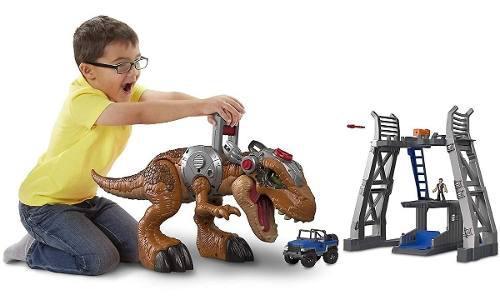 Juegos De T-rex Imaginext Dinosaurios Jurassic World Fmx85