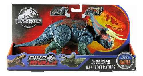Jurassic World Dino Rivals Doble Ataque Nasutoceratops