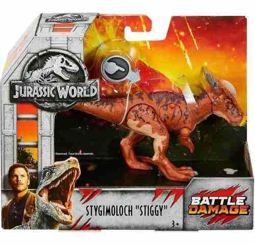 Jurassic World Figura Stygimoloch Stiggy Battle Damage