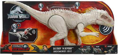 Jurassic World Indominus Rex Destruye Y Devora 58 Cm, 2019