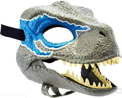 Jurassic World Mascara Velociraptor Blue Rivals Mattel 2018