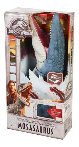 Jurassic World Mosasaurus Real Feel Dinosaurio Mattel 2018