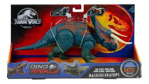 Jurassic World Nasutoceratops Dino Rivals Battle Big Rock