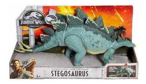 Jurassic World Stegosaurus Dinos De Batalla