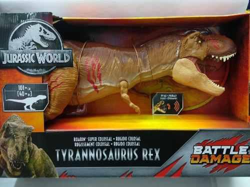 Jurassic World Tyrannosaurus Rex Colosal Battle Damage