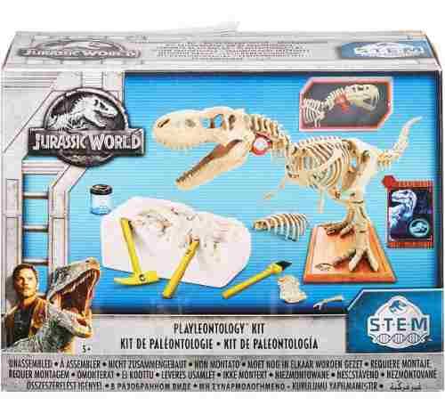 Kit Paleontologia Jurassic World Dinosaurio T Rex Mattel