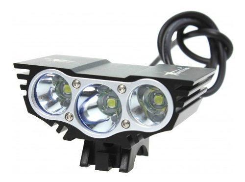 Lampara Bicicleta Solarstorm X3 Led Recargable 7500 Lumen