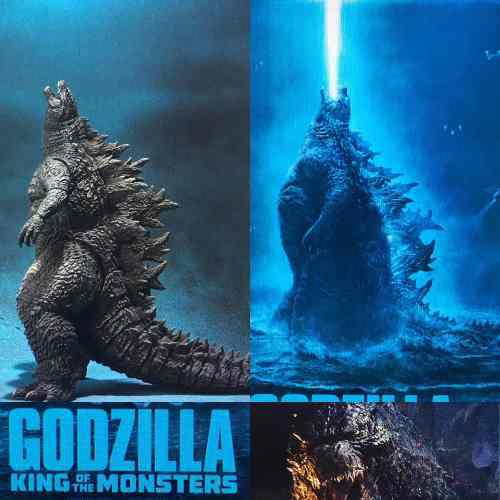 Leer! Godzilla Sh Monsterarts 2019 King Of Monsters Bandai