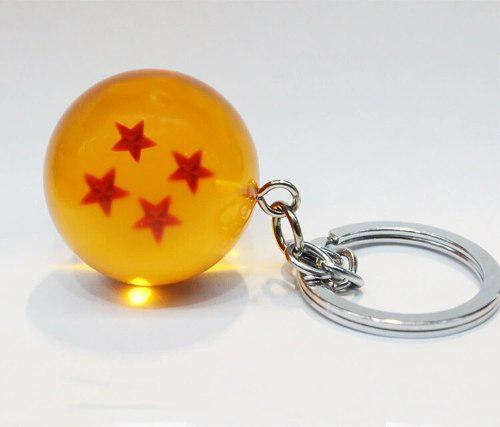Llavero Esfera Del Dragon 4 Estrellas Dragon Ball Super Z