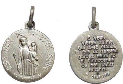 Medalla Nuestra Señora Del Buen Amparo + Cadena Acero Inox