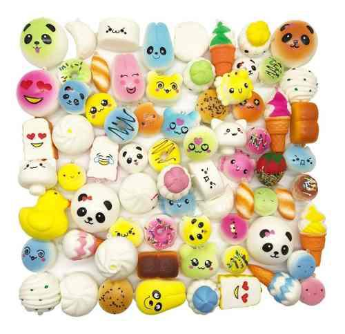 Medium Mini Suave 30 Piezas Squishy Squishies Kawaii Aleato