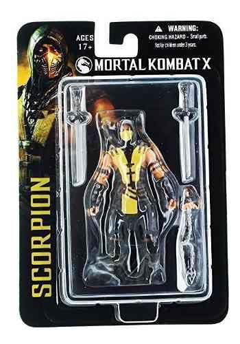 Mezco Mortal Kombat X Scorpion 4 Pulgadas Figura De Acción