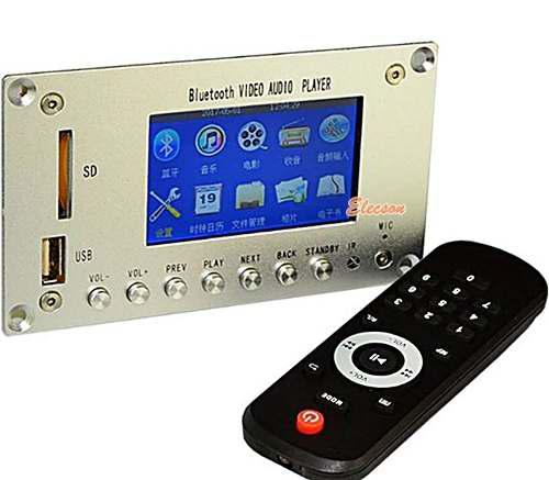 Modulo Reproductor Mp3 Mp4 Mp5 Pantalla Lcd 3plg Bluetooth