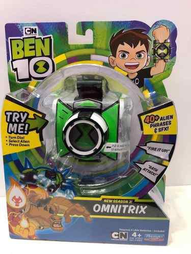 Omnitrix O Reloj De Ben 10 Con Loz Y Sonidos