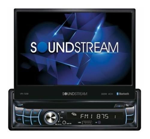 Pantalla Soundstream Vr-720b C/ Camara De Reversa Gratis