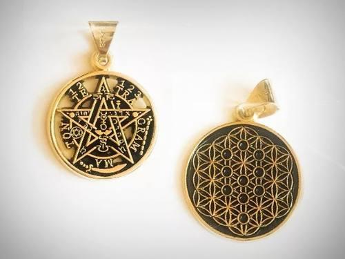 Paquete Tetragramaton Y Flor De La Vida + Envío