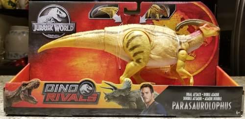 Parasaurolophus Dino Rivals Jurassic World Dual Attack