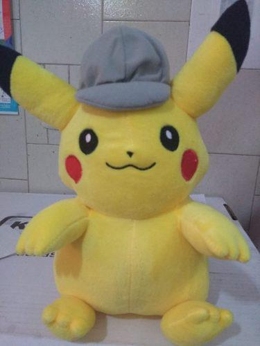 Pikachu Peluche Detective Pokémon Envío Gratis
