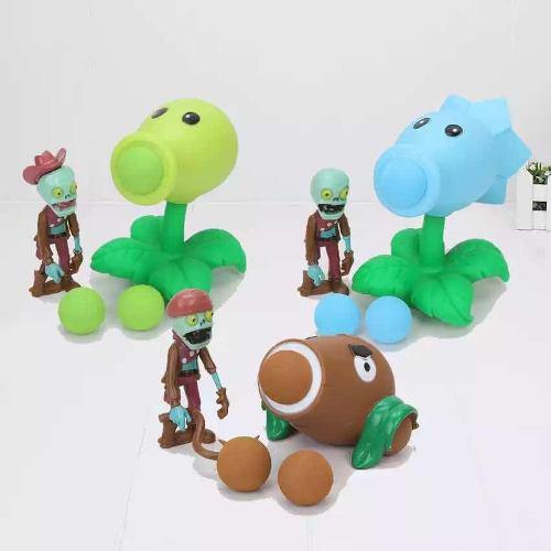 Plantas Vs Zombies 3 Juguetes Con Figuras De Acción