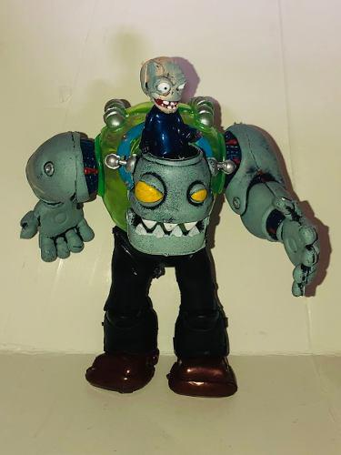 Plantas Vs Zombies Figura 17 Cm Robot Zomboss Luz Grande