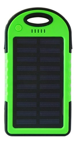 Power Bank Solar  Mah Verde Bateria