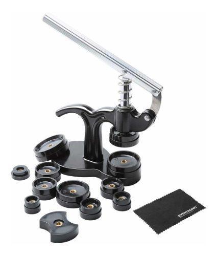 Prensa Para Relojero 14 Piezas, Troqueles De 18mm A 50 Mm