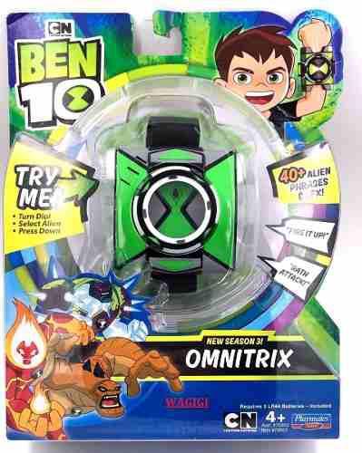 Reloj Ben 10 Omnitrix Temporada 3 Frases Y Sonidos 2019