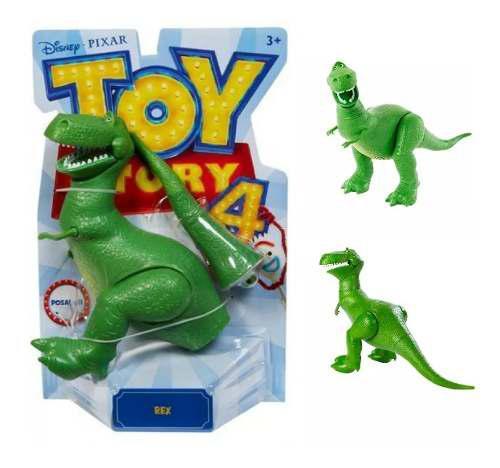 Rex Figura Toy Story 4 Disney Pixar Posable